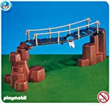 PLAYMOBIL 7272 - Rope bridge and rocks with trap (brown)
