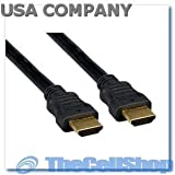 High Speed HDMI Cable Category 2 (Full 1080P Capable) (6 feet)