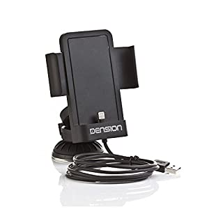 Dension IP6LCRP professional car holder for Apple iPhone 6/6 Plus / 5S / 5C / 5 for DENSION GATEWAY series or USB Radio / -Navi / -Headunit by DENSION