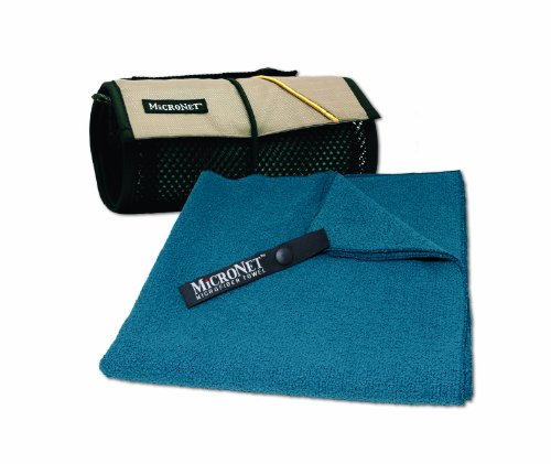 MICRONET MicroTerry Towel,Deep Blue,X-Large