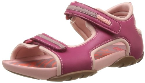 CAMPER Girls Ous Sandals 80458-004 Pink 2 UK, 34 EU