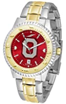 "Ohio State Buckeyes ""O"" Competitor AnoChrome Two Tone Watch"