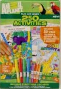 Animal Planet 250 Activities for Kids - Play and Color by Horizon - 1