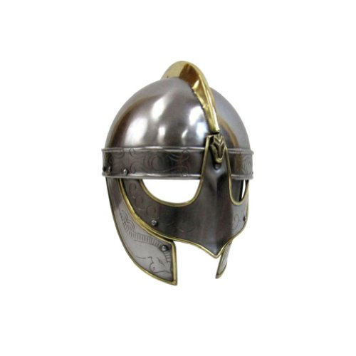 Armor Venue - Viking Wolf Helmet - Metallic - One Size