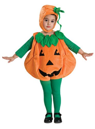 Rubie's Costume Baby Pumpkin Romper Costume, Orange, Newborn image