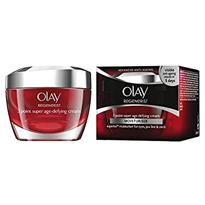 Olay Regenerist 3 Point Anti-Ageing Night Moisturiser, 50 ml