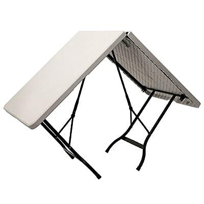 Zelsius - Falttisch, 180 x 75 x 72 cm, Gartentisch, Klapptisch, Campingtisch, weiß von Zelsius auf Gartenmöbel von Du und Dein Garten