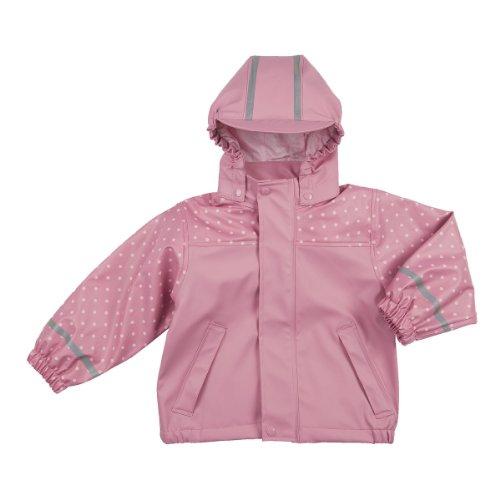 BORNINO Regenjacke Baby-Jacke Regenbekleidung, Größe 74/80, rosa