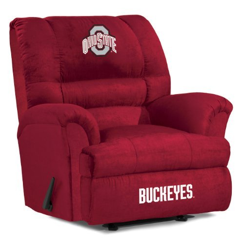 NCAA Ohio State Buckeyes Big Daddy Microfiber Recliner
