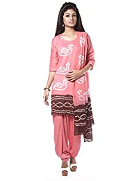 NITARA Women's Cotton Stitched Salwar Suit Sets - B01AJK4WS6