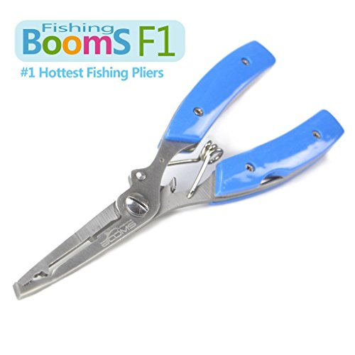 Booms fishing f1 stainless steel fishing pliers resistant for Saltwater fishing pliers