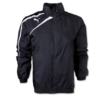 Puma Spirit Rain Jacket Mens Q13 (XX-Large, Black)
