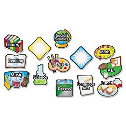 Magnetic Subject Labels, 4 x 6, 13/Set, Sold as 1 Each