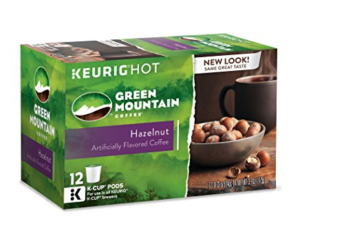 Green Mountain Coffee Hazelnut, Keurig K-Cups, 72 Count (Hazelnut K Cups compare prices)