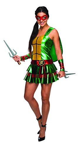 Secret Wishes Women's Teenage Mutant Ninja Turtles Raphael Dress