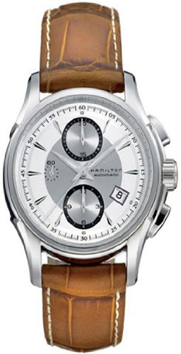 Hamilton Men's H32616553 Jazzmaster Auto Chrono Silver Dial Watch
