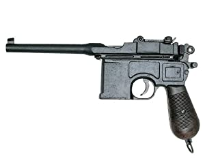 Broomhandled Mauser 1898 (Black,12.5-inches)
