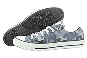 CONVERSE Men's All Star Ox Sneaker (Navy Camo 8.5 M)