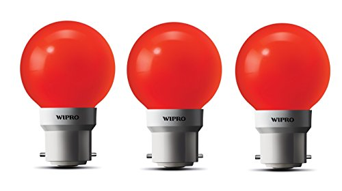 0.5W-LED-Bulb-(Red-,-pack-of-3)