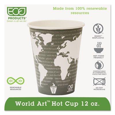 ECOEPBHC12WA - Eco-Products World Art Hot Beverage Cups