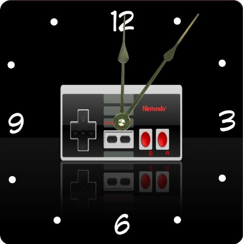 Retro Game Controller Clock