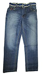 Topchee Kids' Jeans (JNK-06_Blue_2 to 3 Years)