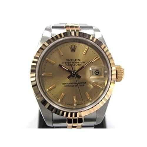 [ロレックス] ROLEX デイトジャスト 腕時計 ウオッチ K18YG(750)イエローゴールド×ステンレススチール(SS) 69173 [中古]