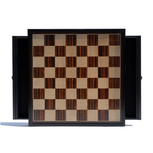 Buy Modern Chess Set With 15 Distressed Wooden Board With