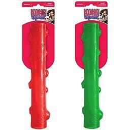 KONG Squeezz Stick Dog Toy, Medium