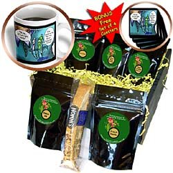 Londons Times Funny Music Cartoons - Excited Pen - Coffee Gift Baskets - Coffee Gift Basket