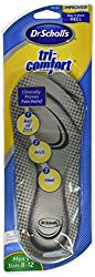 Dr. Scholl's Tri-Comfort Inserts, Men's Sizes 8-12 1 pr