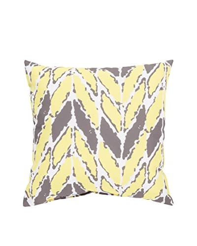Surya Rain Abstract Print Pillow