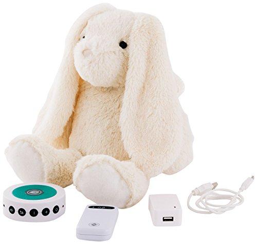 PRINCE LIONHEART, Coniglietto di peluche Tummy Sleep, Bianco (Écru)