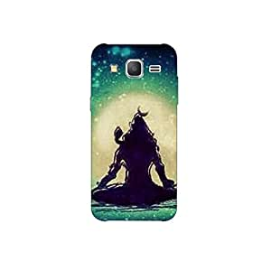 samsang grand prime nkt11_R (40) Mobile Case by Mott2 - Lord Shiva in Meditation