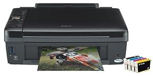 Epson Stylus SX420W Multifunktionsgerät  (3 in 1, Drucken, Scannen, Kopieren)