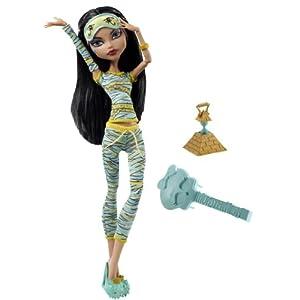 Mattel V7974 - Monster High Puppe Cleo de Nile, Tochter der Mumie