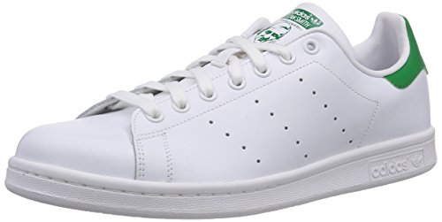 adidas Originals Stan Smith M20324, Unisex-Erwachsene Low-Top Sneaker, Weiß (Running White/Running White/Fairway), EU 38 2/3 thumbnail
