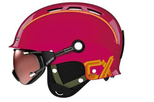 Skihelm Casco CX-3 Berry incl. Hardcase, ohne Skibrille, M (54 bis 58 cm Kopfumfang)
