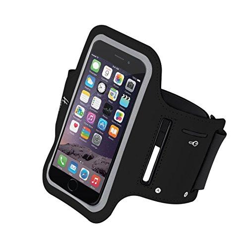 Etui pour Téléphone portable - Halterrego Brassard H.Sport Noir - Brassard universel pour smartphones
