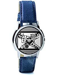 BigOwl Virtual World Analog Men's Wrist Watch 5094054526-RS1-W-BLU