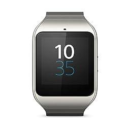Original Sony Smart Watch 3 / SmartWatch 3 - SWR50 - Silver Metal