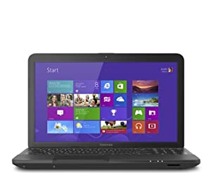 Toshiba Satellite C855-S5343 PSCBLU-025003 15.6-Inch Laptop (Satin Black Trax)