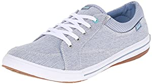 Keds Women's Vollie LTT Fashion Sneaker, Blue, 10 M US