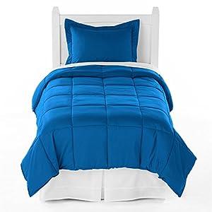 Ivy Union Premium Down Alternative Comforter Set Twin XL Extra Long / Twin (Medium Blue)