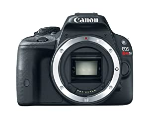 Canon EOS Rebel SL1 18.0 MP CMOS Digital Camera with 3-inch Touchscreen and Full HD Movie Mode (Body Only)