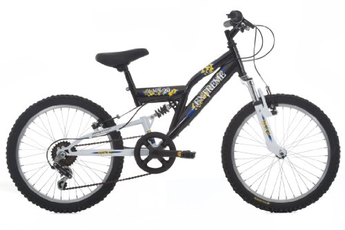 Extreme Blade Boys Suspension Bike - Black/White, 20-inch