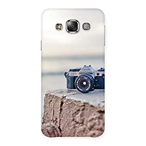 Special Camera on Rock Multicolor Back Case Cover for Galaxy E7
