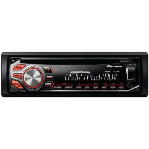 Pioneer Deh-X2600Ui Cd Receiver With Mixtrax(Tm), Android(Tm) Media Access & 1 Set Of Rcas