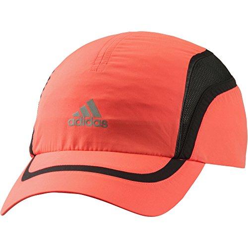 (アディダス)adidas ランニング クライマクール キャップ ALU76 S22672 ソーラーレッド/ブラック/リフレクティブシルバー OSFX
