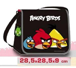 Euromic - 7599520 Angry Birds Umhängetasche schwarz